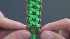 Makrome Düğümlerle Bileklik Yapımı