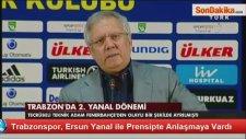 Trabzonspor, Ersun Yanal İle Prensipte Anlaşmaya Vardı