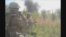 Şarapnelle Yaralanan Amerikan Askeri