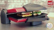 Era Rapido Tost İle En Fazla 5 Dakikada  İncecik Tostlar, Hamburger Ve Sandviçlerinizi Hazırlayabili