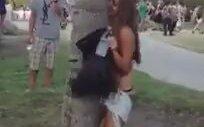Ağaçla Sevişen Kız