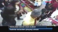 Kadınları Markette Taciz Eden Sarı Gömlekli Adam