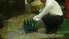 Bir Kasa Birayı 10 Saniyede Açmak