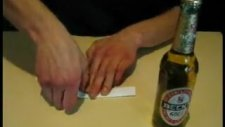 Bir Parça Kağıt ile Bira Açmak