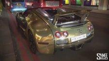 Bugatti'yi Altınla Kaplatmak