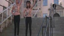 Femen'in İsveç Protestosu
