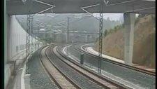 İspanya'daki Tren Kazası Kamerada