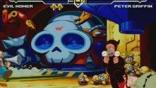 Mugen - Evil Homer Vs Peter (Fantazi Dövüş Oyunu)
