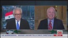 Suriye'ye Savaş Toplantısında Cepten Poker Oynamak - John McCain