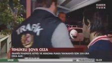 Trafiğin Ortasında Sıfır Çizen Sürücünün Yakalanması