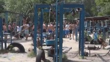 Ukrayna'da Bir Park Fantezisi - Street Workout