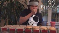 1 Dakikada 5 Tane Big Mac Yemek