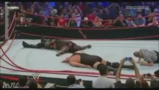 Big Show vs. Mark Henry - Ringin Yıkılması