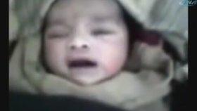 Suriye'de Yeni Doğan Bebeğin Allah Demesi (İbretlik)