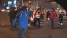 Taksim Metrosunda Güvenlik Görevlisi Şiddeti