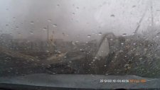 Araç Kamerasıyla Korkunç Kasırgayı Görüntülemek