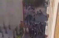 Esenyurt'ta Eylemcileri Ezip Kaçan Araç