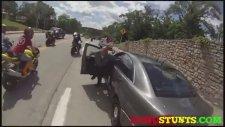 Motosikletle Polise Çarpmanın Sonu