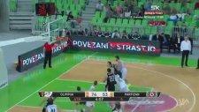 Pota Arkasından Basket Atmak - Blaz Mahkovic