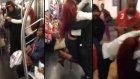 New York Metrosunda Efsane Kavga