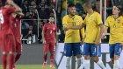Türkiye 0-4 Brezilya (Maç Özeti)