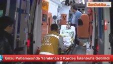 Grizu Patlamasında Yaralanan 2 Kardeş İstanbul'a Getirildi