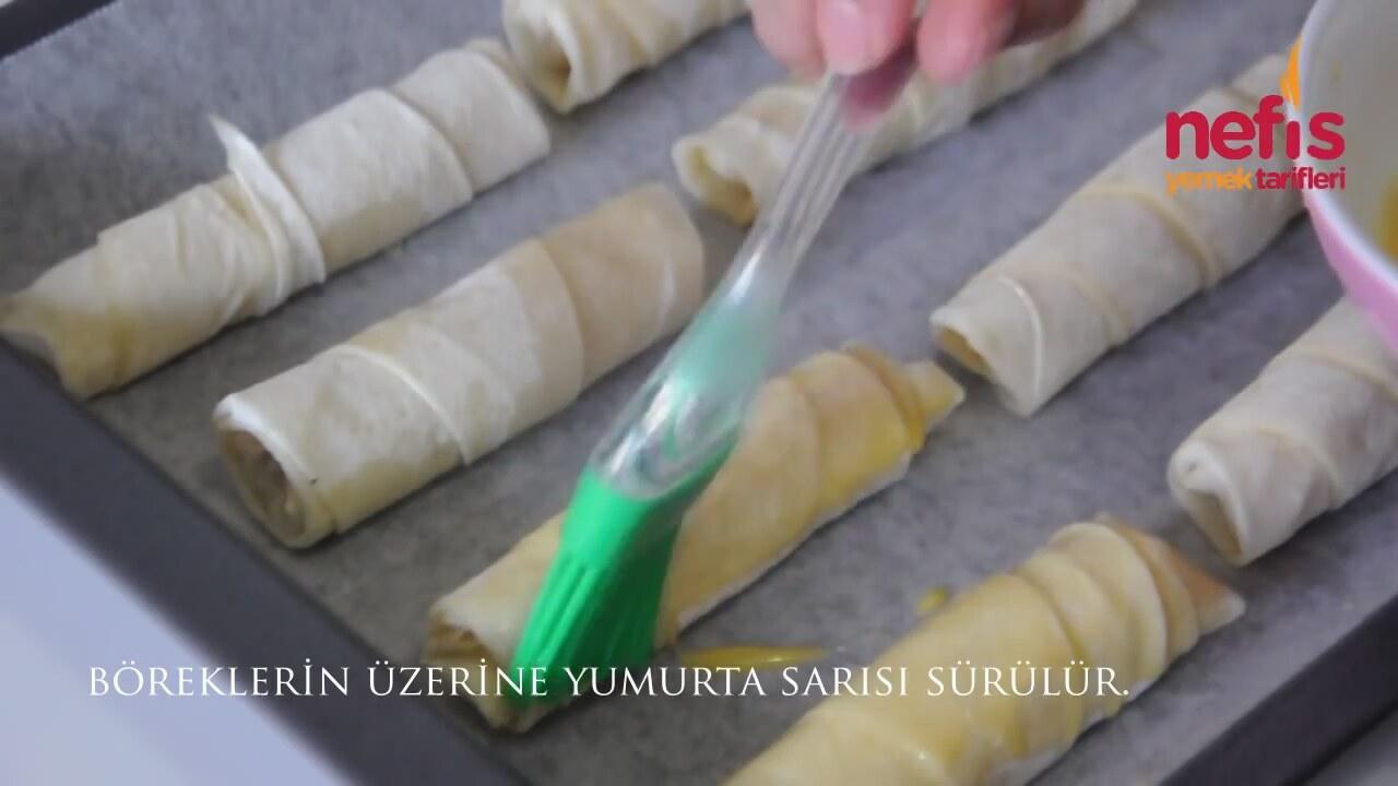 Nefis Patatesli Rulo Börek Tarifi