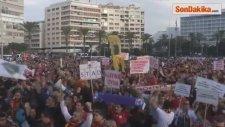 İzmirli Taraftarlardan Ortak Stat Protestosu
