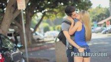 Kissing Prank - Staring Contest
