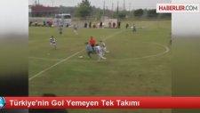Türkiye'nin Gol Yemeyen Tek Takımı