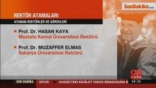 14 Rektörün Atama Kararı Resmi Gazete'de
