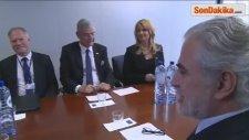 Ab Bakanı Bozkır, Ab Komisyonu Üyeleriyle Görüştü