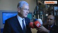 Ab Bakanı Bozkır, Temaslarını Değerlendirdi