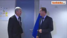 Avrupa Birliği Bakanı Ve Başmüzakereci Volkan Bozkır Brüksel'de