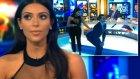Kim Kardashian Olay Pozu Uygulamalı Gösterdi!