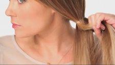 Dağinik Görunümlü Yan Örgülü Saç Nasıl Yapılır