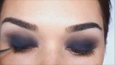 Mavi Buğulu Göz Makyajı Nasıl Yapılır & Baktabul