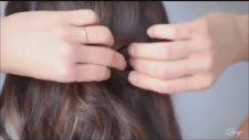 Yarı Toplu, Örgülü Saç Modeli Nasıl Yapılır