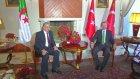 Cezayir'de Başbakanı Abdulmalek Sellal'i Kabul Etti