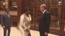 Mali Ulusal Meclis Başkanı Sidibe Cumhurbaşkanlığı Sarayı'nda