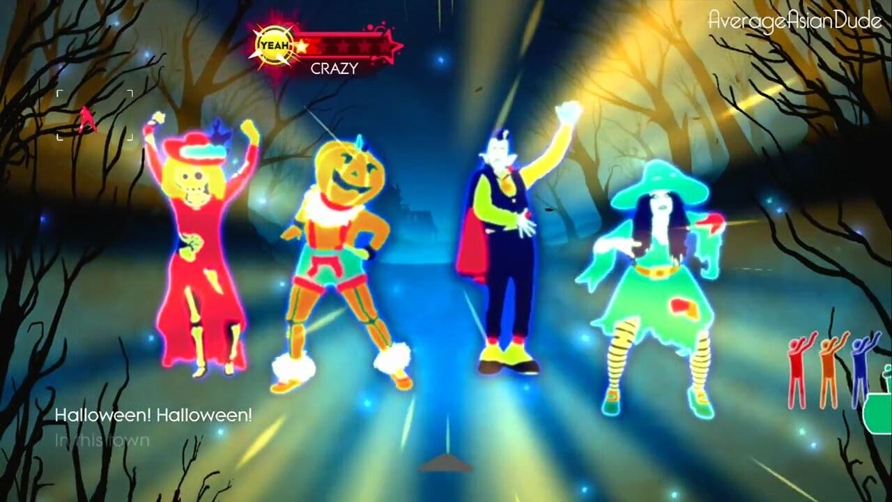just dance 3 this is halloween - Just Dance 3 Halloween