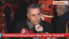 Eskişehirspor Başkanıyle Fenerli Taraftar Tartıştı