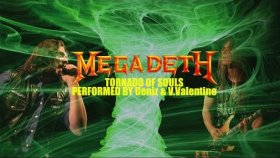 Megadeth - Tornado Of Souls (Cover Performed By Deniz & V.valentine)