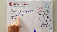 10 Dk'da Köklü Sayılar - Tonguc Akademi, Mehmet Tugutlu