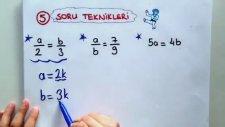 10 Dk'da Oran Orantı - Tonguc Akademi, Mehmet Tugutlu
