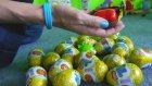 Çocuklar İçin Oyun Videosu - Angry Birds ve Sürpriz Yumurtalar