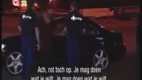 Hollanda Polisine Türkçe Küfür Kombo
