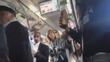 Metrobüste Kadınlar Kavgası
