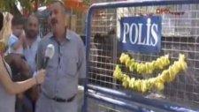 En Sonunda İşe Yarayan Polis Barikatı