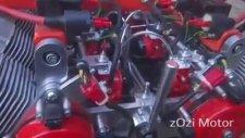 8 Silindir Glardoni Motor- Konya